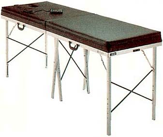 Portable Massage Table w/adj. hgt.